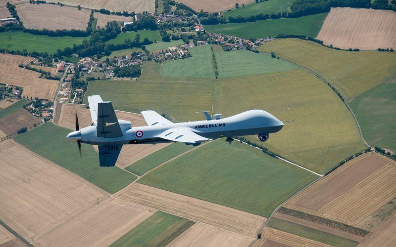 Un MQ-9 Reaper de l'Armée de l'Air vole pour la première fois dans l'espace aérien français