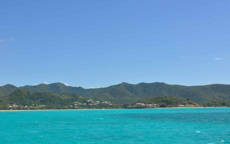 Antigua : de toute bleuté