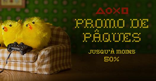 Promos de Paques sur le PS Store !