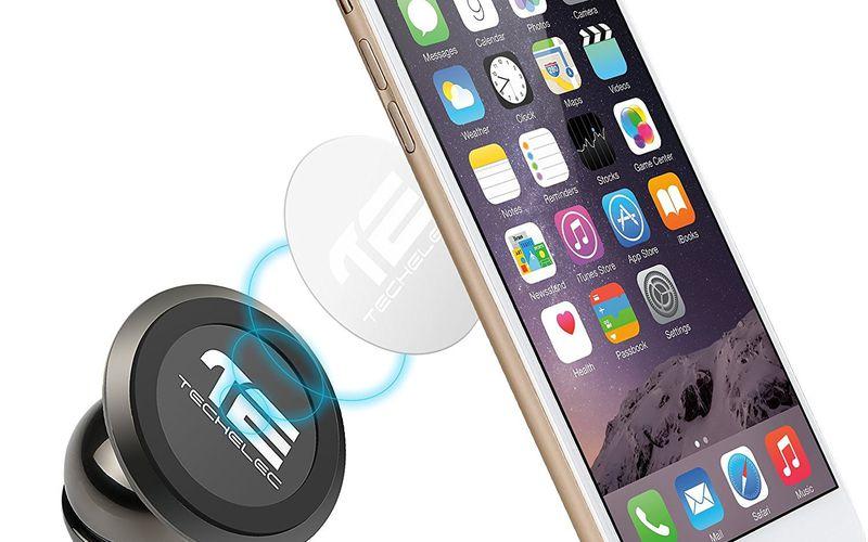 Test du support magnétique pour smartphone TechElec (code promo)