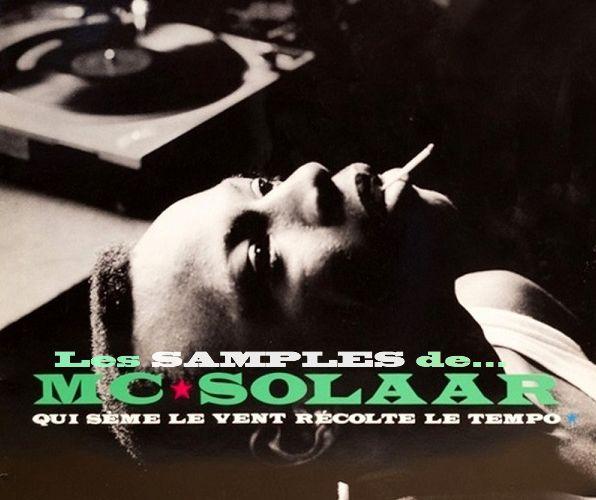 """MC Solaar : Qui sème le """"sample"""" récolte le tempo"""