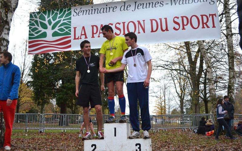 Cross : Anthony Walter remporte le district junior