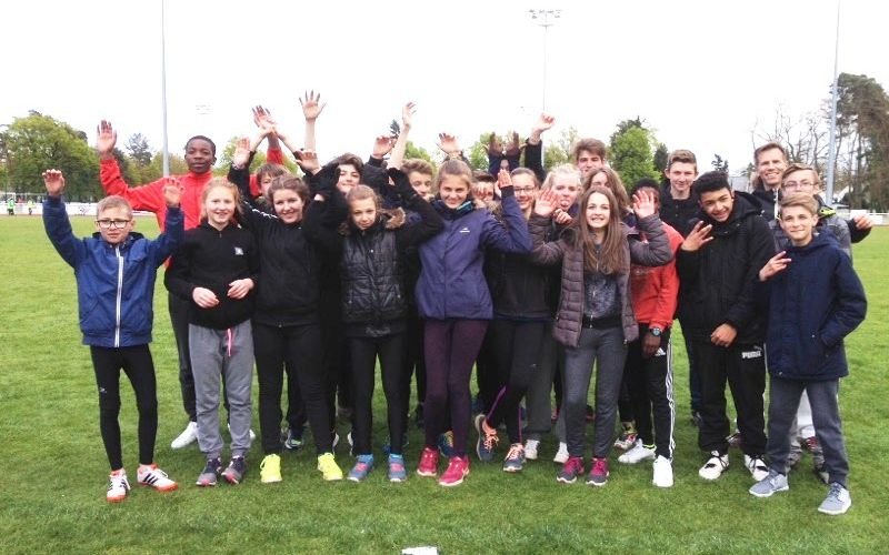 UNSS : DEPARTEMENTAUX ATHLETISME