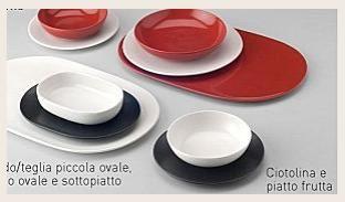I piatti e le stoviglie Saint Tropez arredano la tua tavola