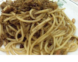Pasta con le sarde cucina siciliana