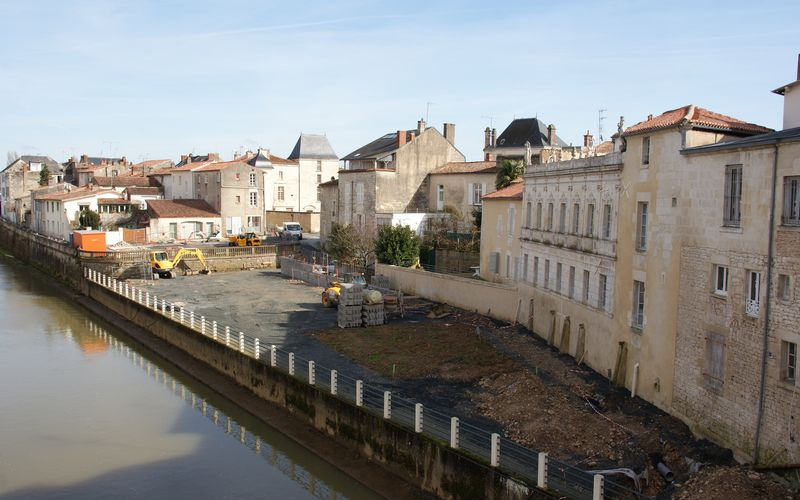 Thivercay, Marronnier et Belliard : de place en place les travaux avancent