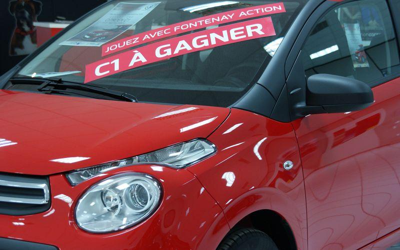 Citroën C1 ► Dernière ligne droite pour jouer et gagner avec Fontenay Action !