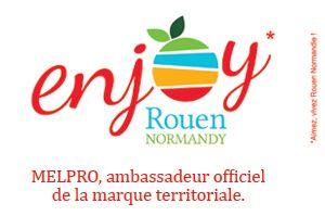"MELPRO devient ambassadeur officiel de la marque territoriale ""Enjoy Rouen Normandy"""