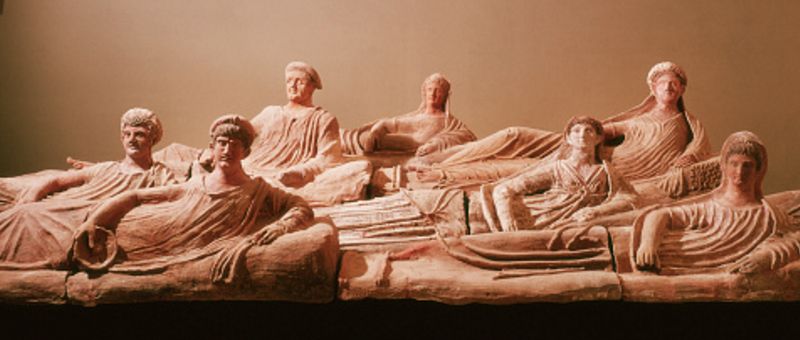 Les sarcophages étrusques (1)