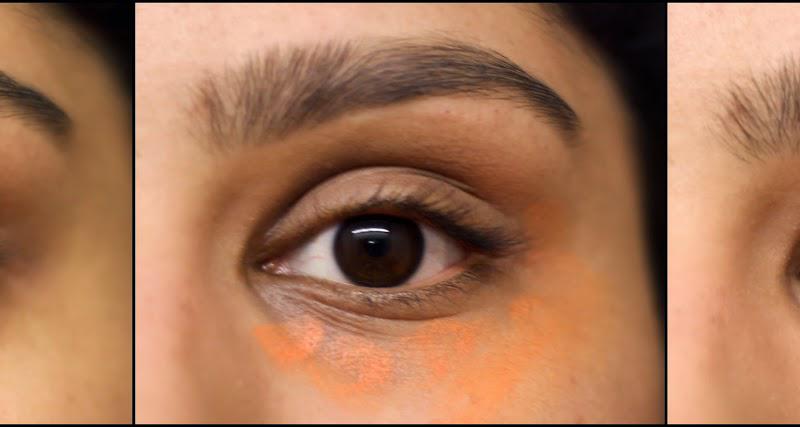 Le concealer orange