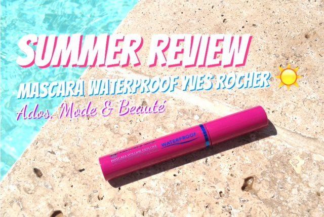 Mascara Volume Déployé Waterproof d'Yves Rocher!