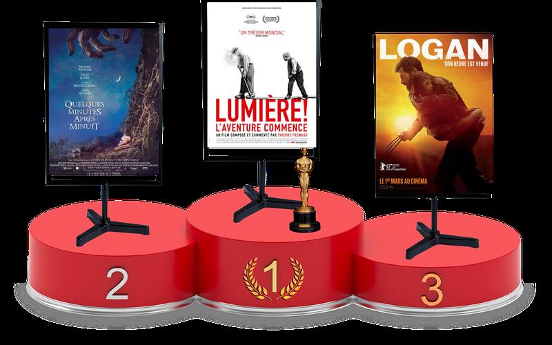 Top Films 2017 : 5e classement de l'année