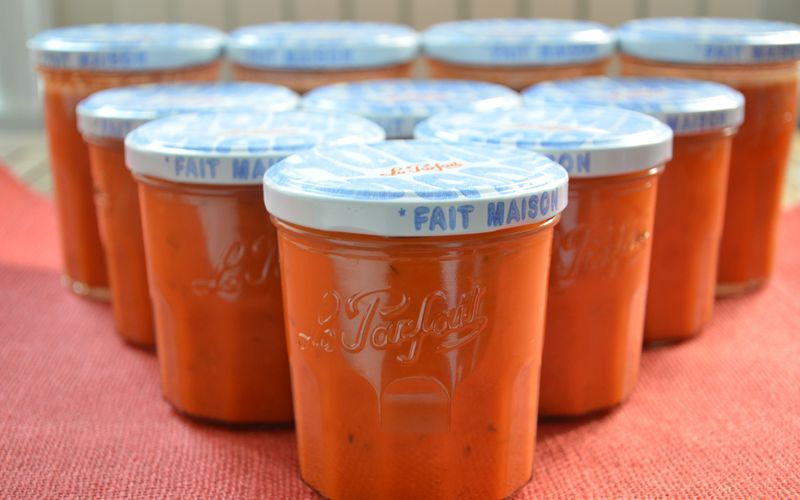 Coulis de tomates, plus ou moins caliente, 2 versions à tester  {thermomix}
