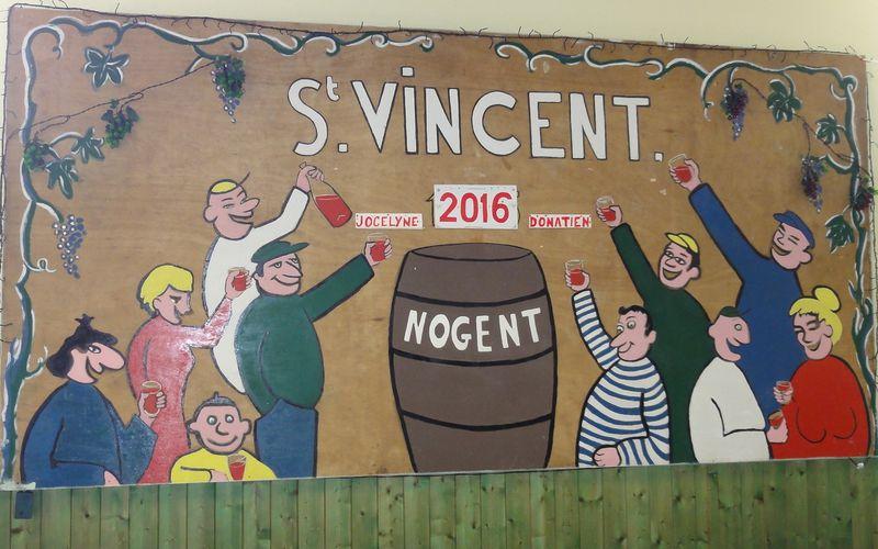 La Saint-Vincent à Nogent-sur-Loir, le 23 /01/2016.
