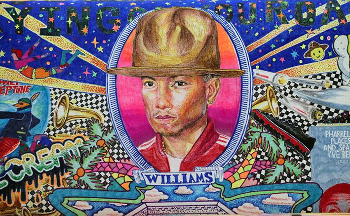 "[Buzz] Pharrell Williams, ""commissaire d'expo"" !"