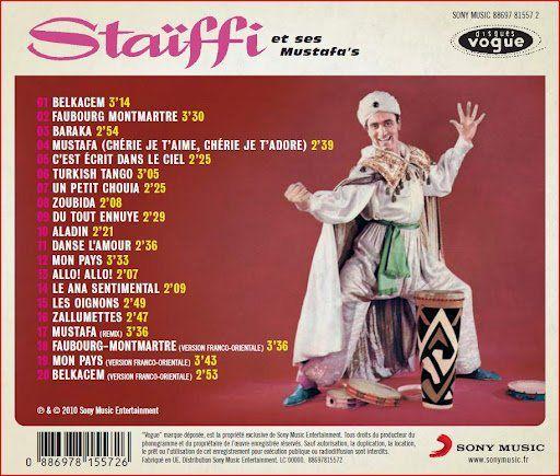 "Une très belle chanson francarabe d'Alberto Staïffi ""Baraka, baraka"", aujourd'hui j'ai la baraka"