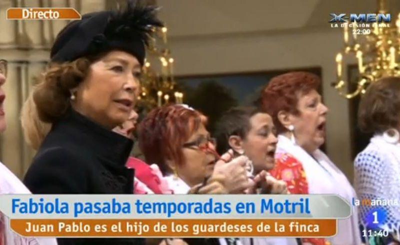 Une Salve Rociera pour dire Adieu à la Reine Fabiola en la Cathédrale Saint Michel et Gudule
