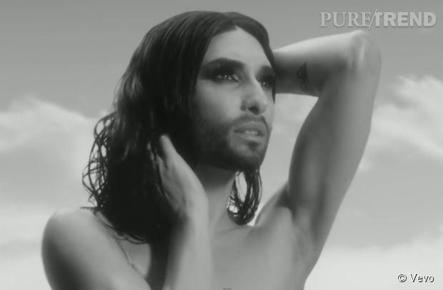 "Conchita Wurst nous fait un appel au respect de la tolérance avec ""You Are Unstoppable"""