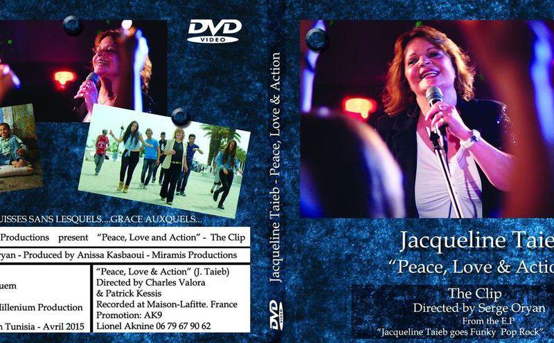 """""""Peace, Love & Action"""" - le nouveau clip vidéo de Jacqueline Taïeb"""
