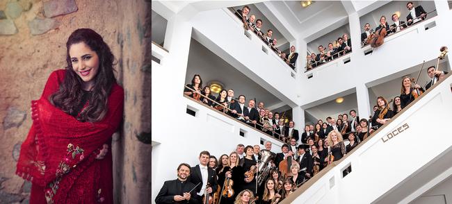Le 11 décembre, la chanteuse libanaise Abeer Nehme se produira avec l'Orchestre National de Belgique à BOZAR.