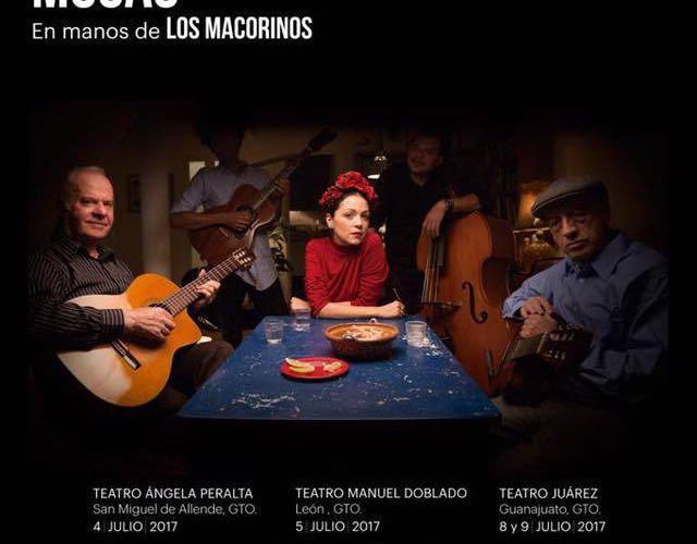Natalia Lafourcade ; Gira de Teatros Históricos de México, Musas 2017.