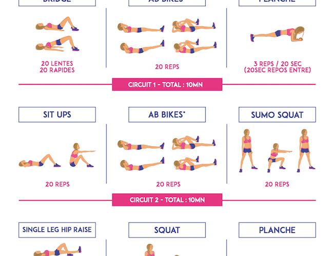Top Body Challenge. Semaine 1.