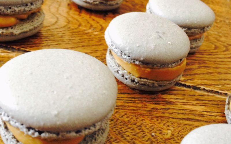 Macarons Réglisse - Chocolat Blanc