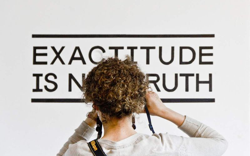 Retour sur l'expo Exactitude Is Not Truth