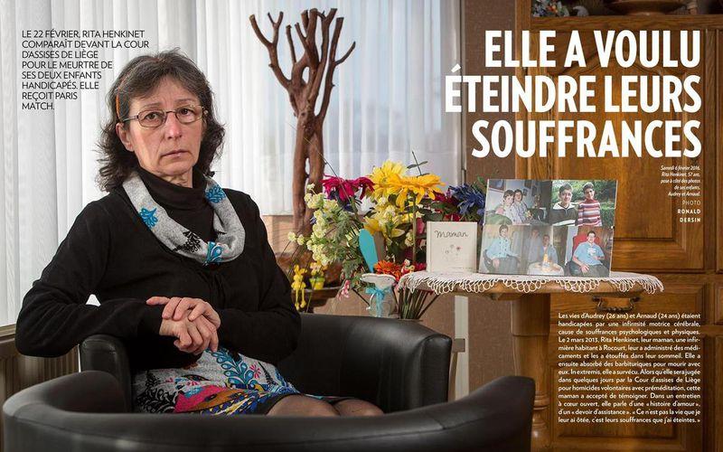 """Rita Henkinet : """"Ce n'est pas la vie que je leur ai ôtée, c'est leurs souffrances que j'ai éteintes"""""""