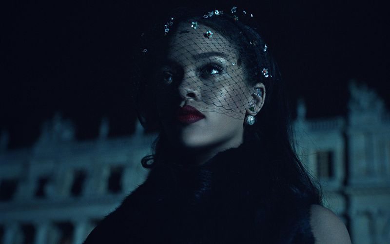 DIOR _SECRET GARDEN IV / STARRING RIHANNA IN THE CHATEAU DE VERSAILLES