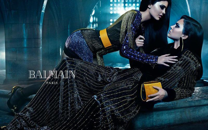 BALMAIN - FALL/WINTER 2015 CAMPAIGN