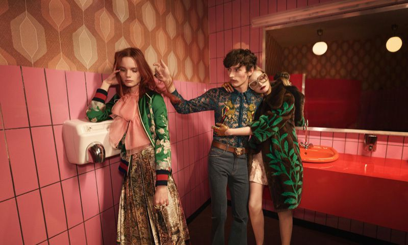 GUCCI  SPRING/SUMMER 2016 CAMPAIGN