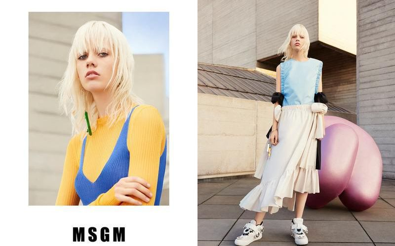 MSGM SPRING/SUMMER 2016 CAMPAIGN