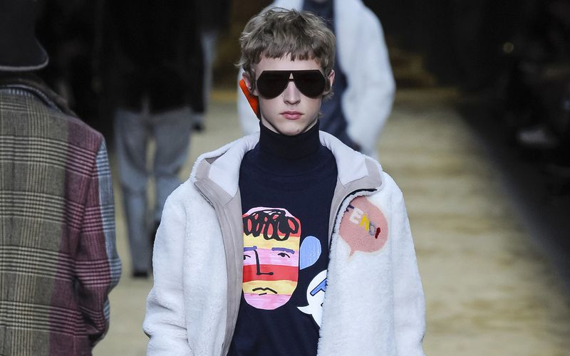 FENDI FALL/WINTER 2016 MENSWEAR