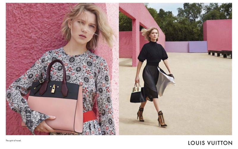 THE SPIRIT OF TRAVEL OF LEA SEYDOUX / LOUIS VUITTON