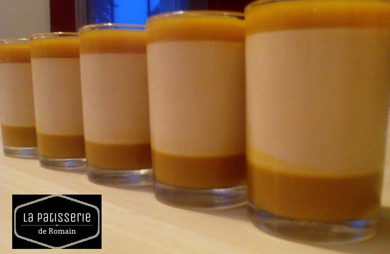 Panna Cotta Dulcey mangue