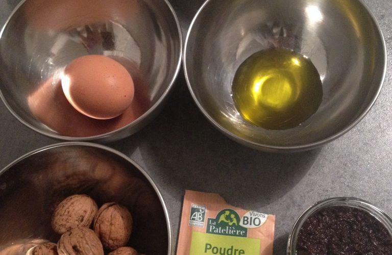 Buche noel : salé aux olives