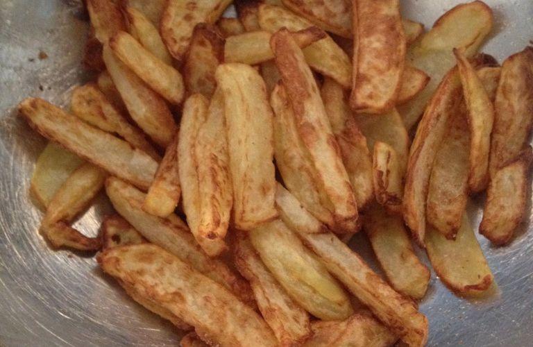 Frites sans matières grasse! (ou presque) avec Seb actifry