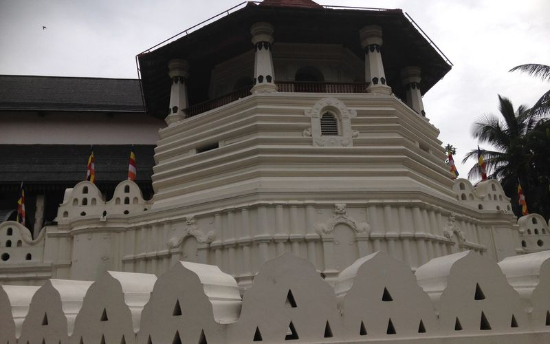 KANDY, le temple de la dent de Bouddha