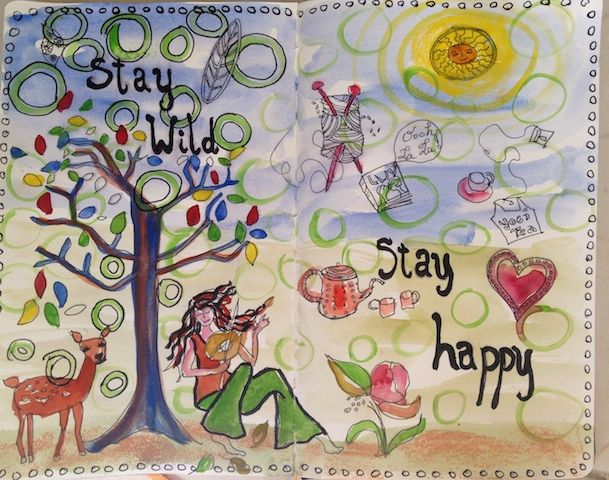 Stay Wild, Stay Happy - Mon journal cette semaine