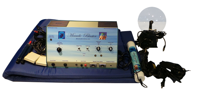 See The Most Advanced Holistic Health Machine Worldwide! The MIRACLE BLASTER ™!