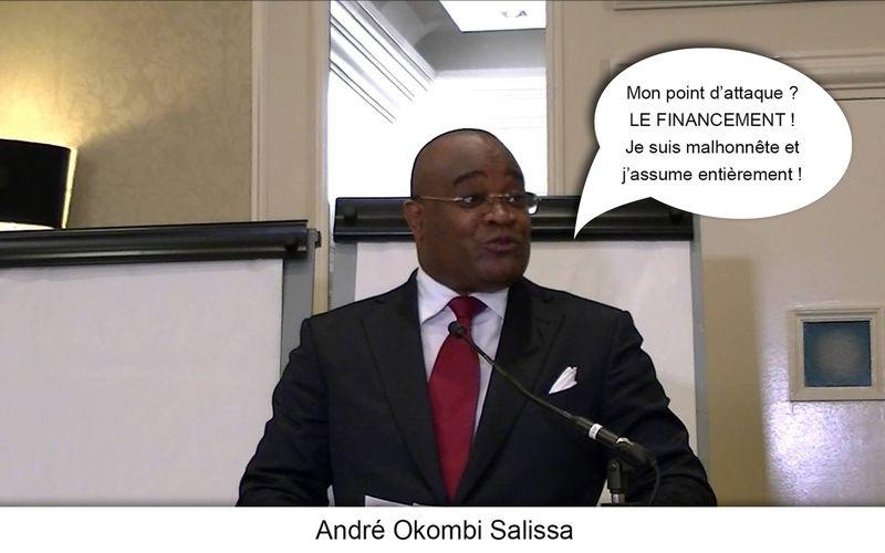 - Grand André OKOMBI SALISSA, okomi yaya ya ba leki ebele