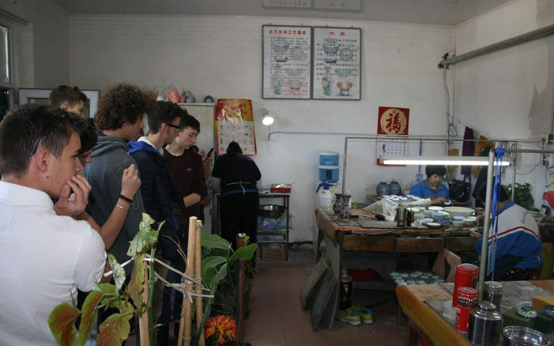Jour 7.1 : Visite d'un atelier d'art traditionnel