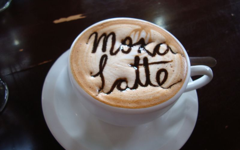 MY Moka Latte! ;^)