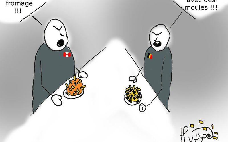 La frite du désaccord