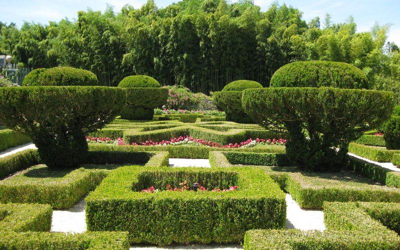 Jardins du château de Viven - Pyrénées Atlantiques