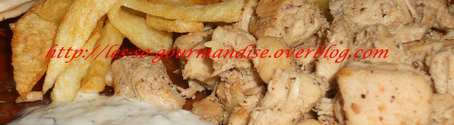 Chawarma au poulet