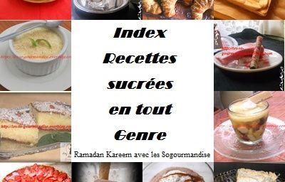 Ramadan 2014_ Index sucré