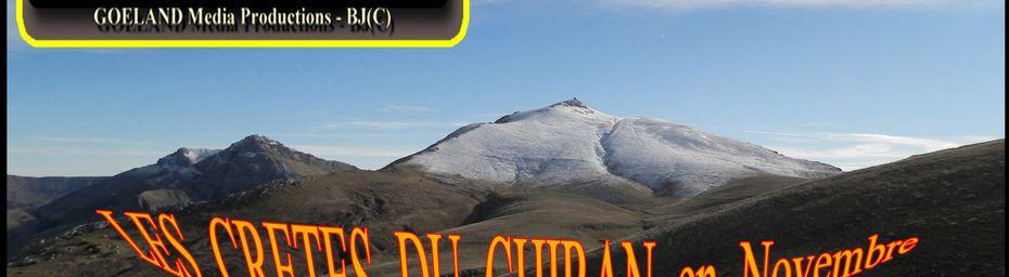 Les CRETES du sommet du CHIRAN depuis MAJASTRES ( en NOVEMBRE )