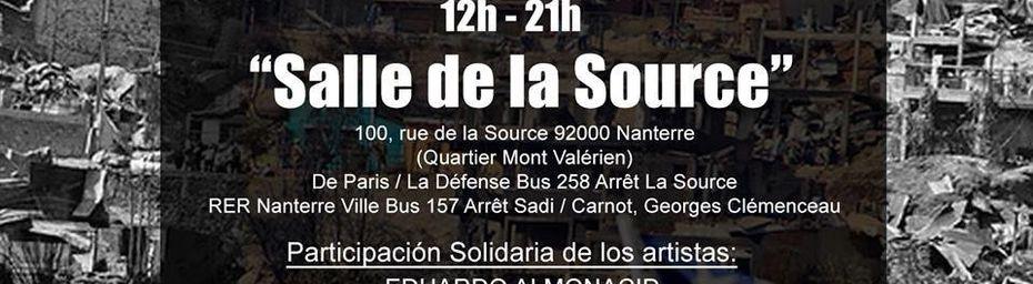 Solidarité avec le Chili (Samedi 19 Avril à Nanterre de 12H à 21h)